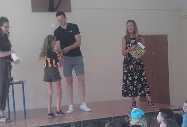 GAA Medal Presentation