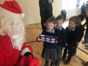 Santa Visits the school 2019