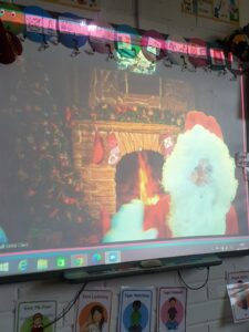 Video call from Santa. 16/12/2020