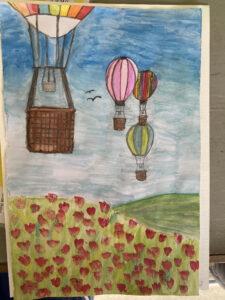 Texaco Art Competition.