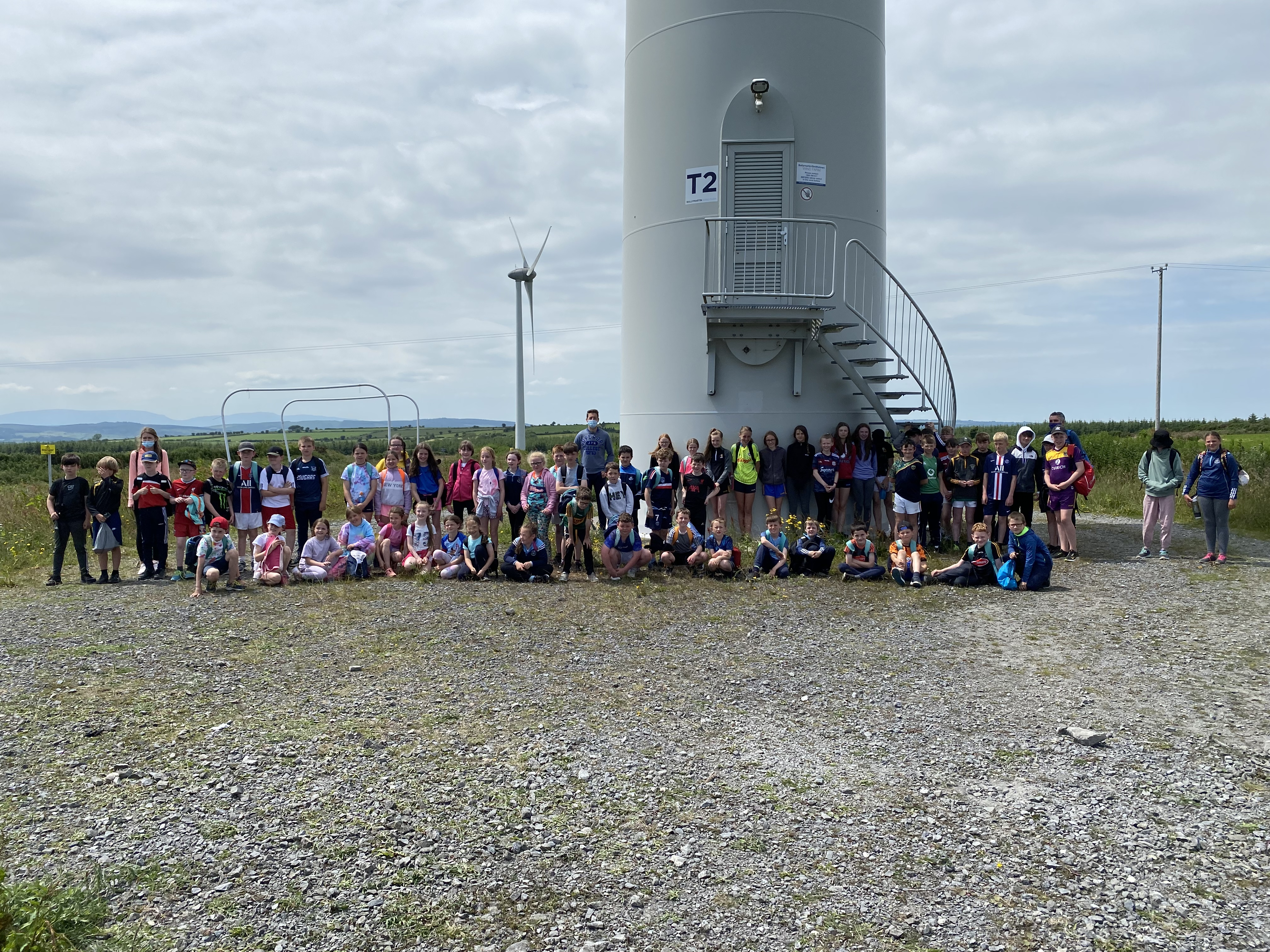 A visit to the windfarm.