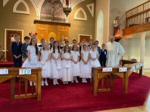 First Holy Communion. 25/9/2021
